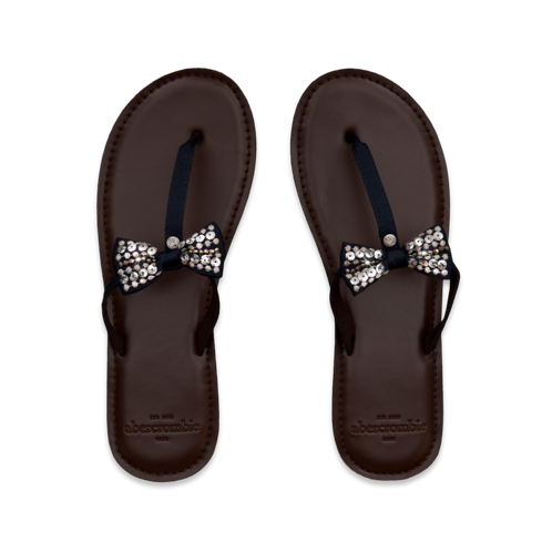 featured items shine flip flops
