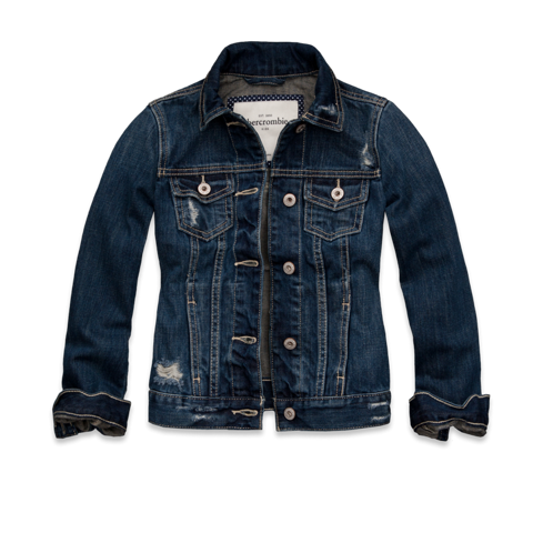 outerwear hailey denim jacket