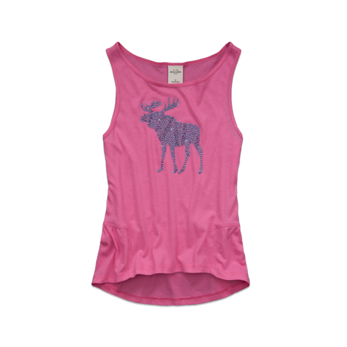 girls jody embellished tank