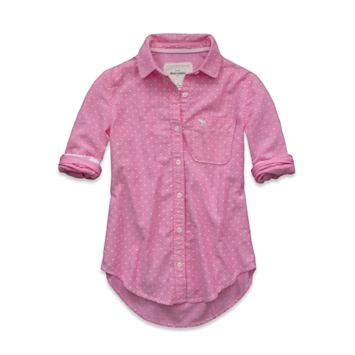 girls bailey dot shirt