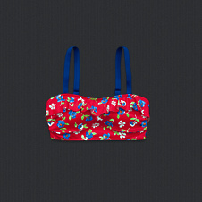 girls belle swim top