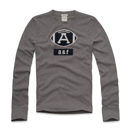 guys varsity long sleeve graphic tee
