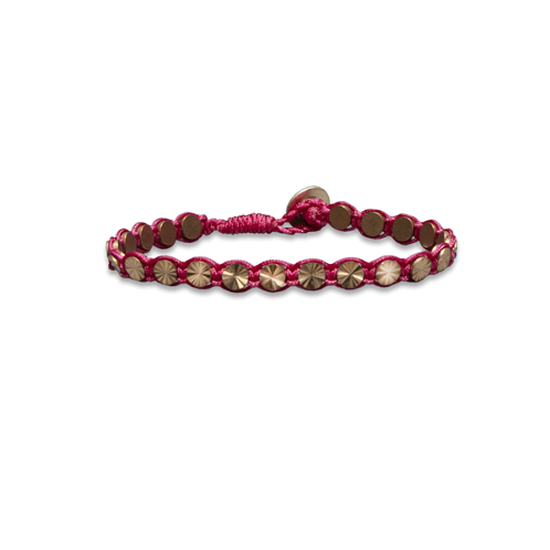 accessories woven shine bracelet