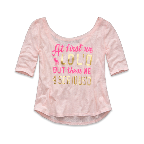 girls maggie shine tee