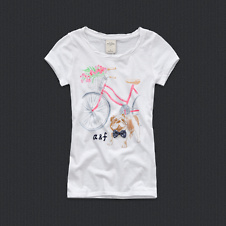 girls abby tee