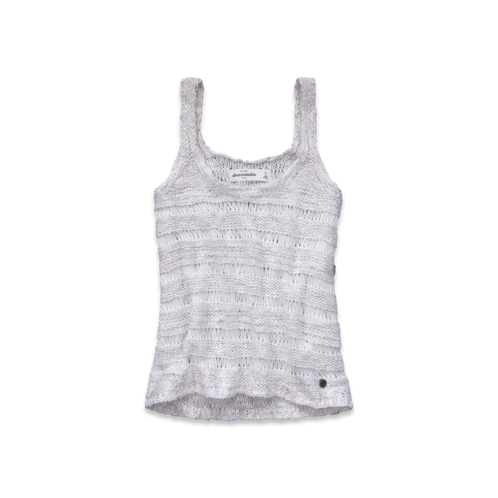girls alana shine sweater tank