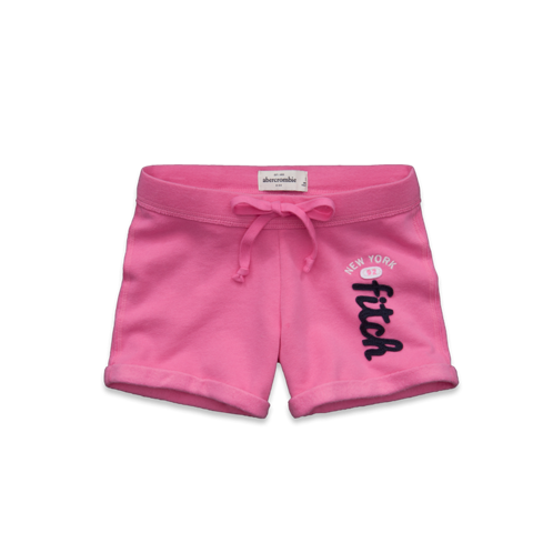 girls a&f athletic boyshorts