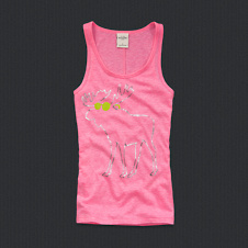 girls kenzie shine tank