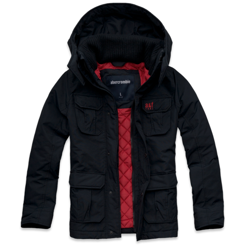outerwear a&f all-season weather warrior parka