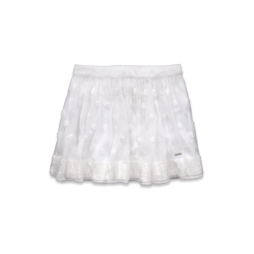 girls stephanie shine skirt