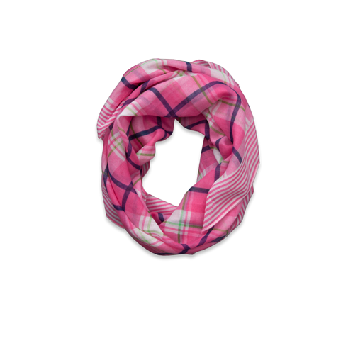 girls mixed pattern scarf