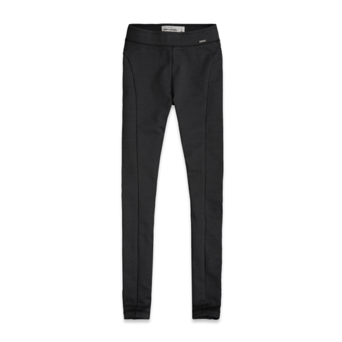 girls a&f high rise ponte leggings