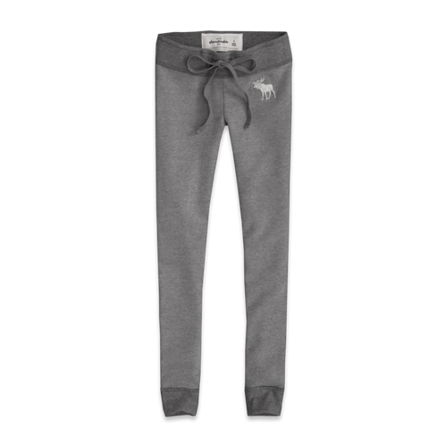 girls a&f fleece legging