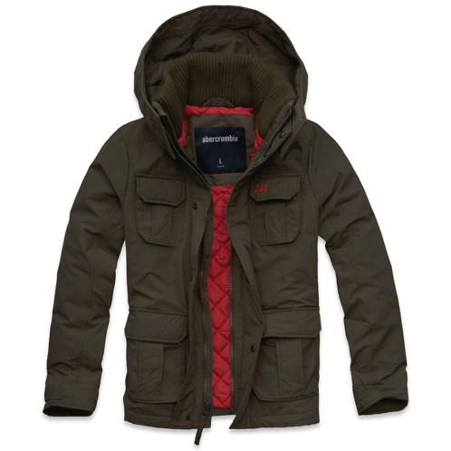 guys a&f all-season weather warrior parka