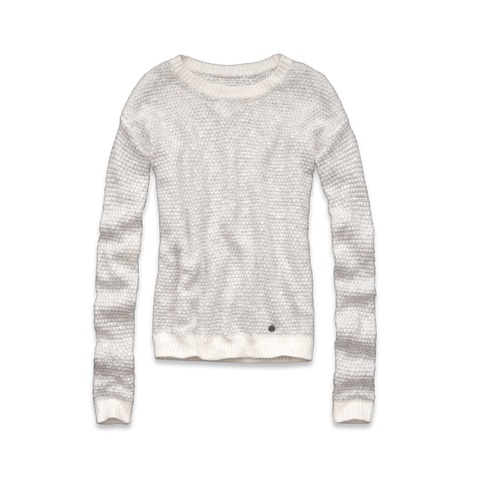 girls marled sweater