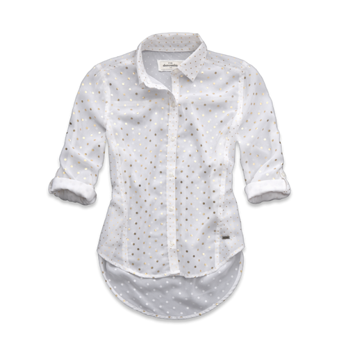 girls chiffon shine shirt