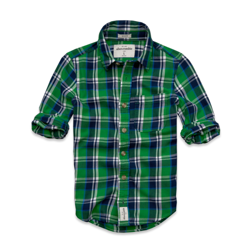guys round mountain twill shirt