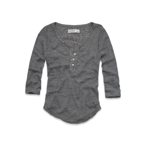 girls burnout henley