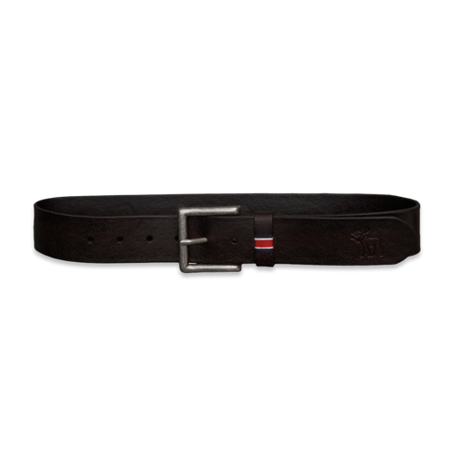 guys genuine leather belt