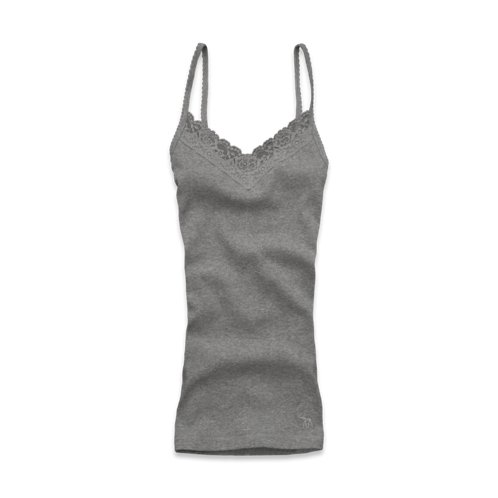 featured items classic lacy ribbed tank
