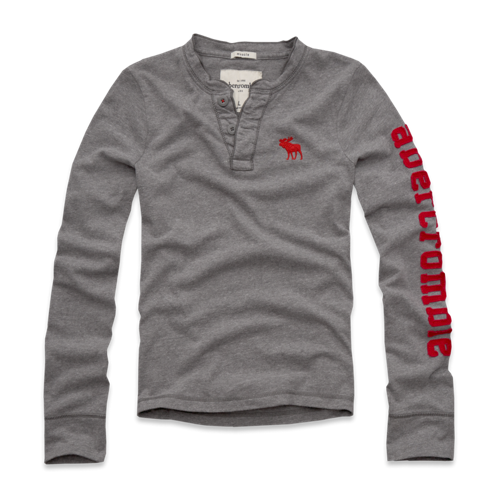 boys long sleeve henley
