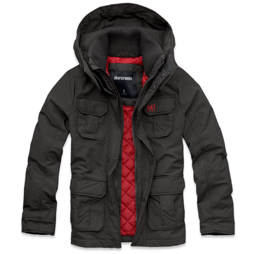 boys a&f all-season weather warrior parka