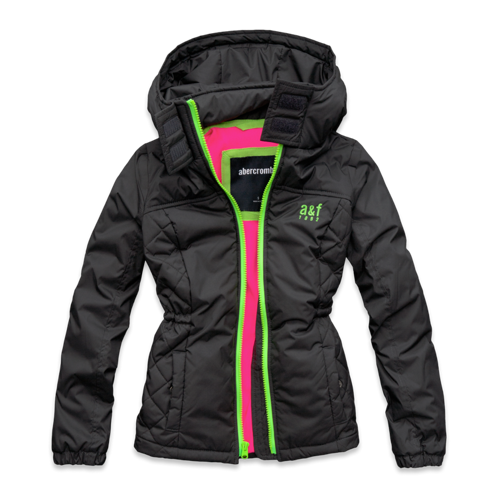 girls lightweight nylon jacket