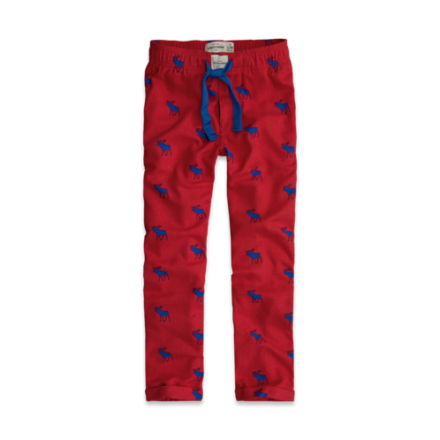 boys moose sleep pants