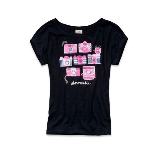 girls pamela shine tee