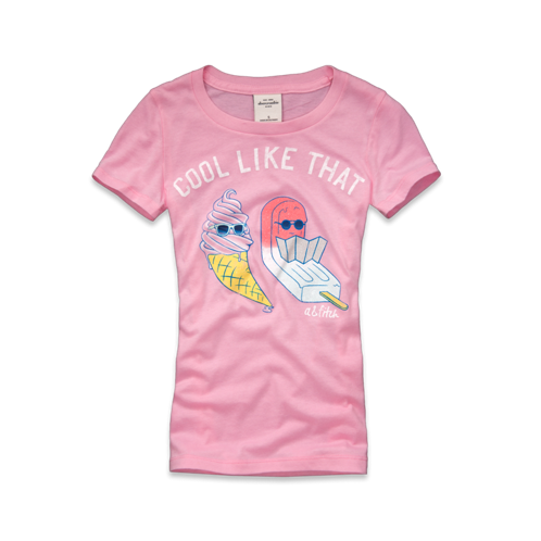girls maura shine tee