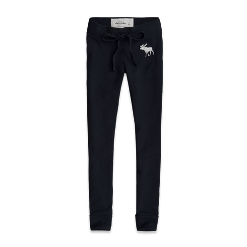 bottoms a&f fleece legging