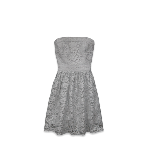 girls classic lace shine dress