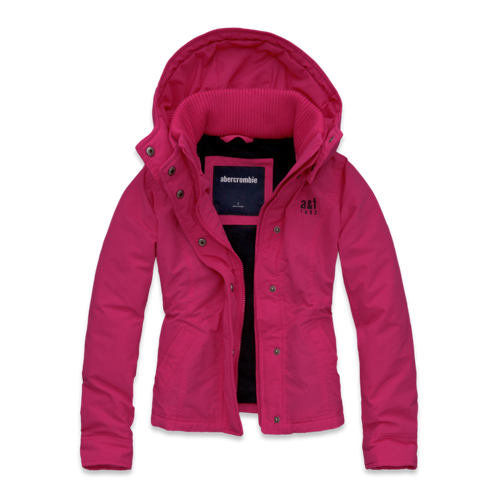 girls a&f all-season weather warrior jacket