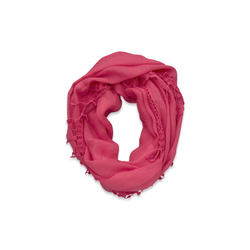 girls pop-color eternity scarf