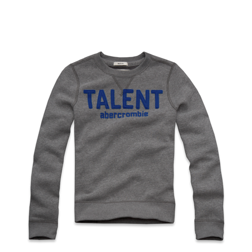 guys statement crew sweatshirt