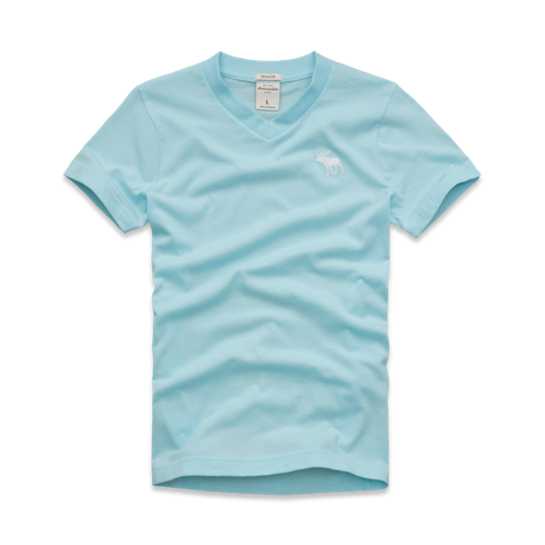 tops classic v-neck tee