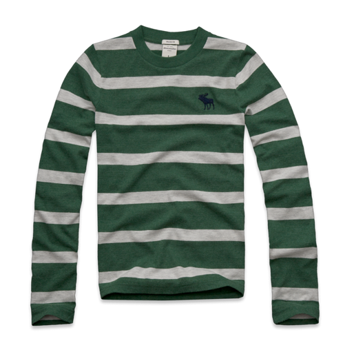 tops striped long sleeve tee
