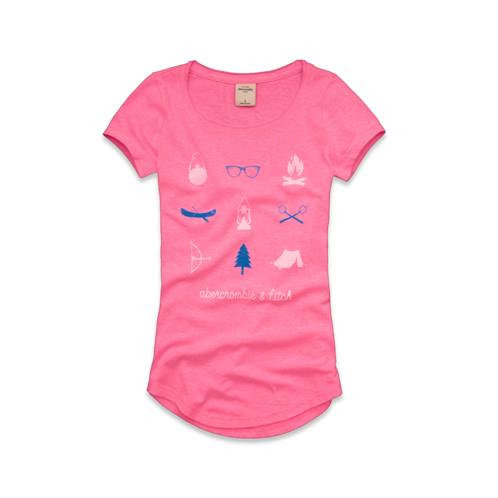girls heather tee