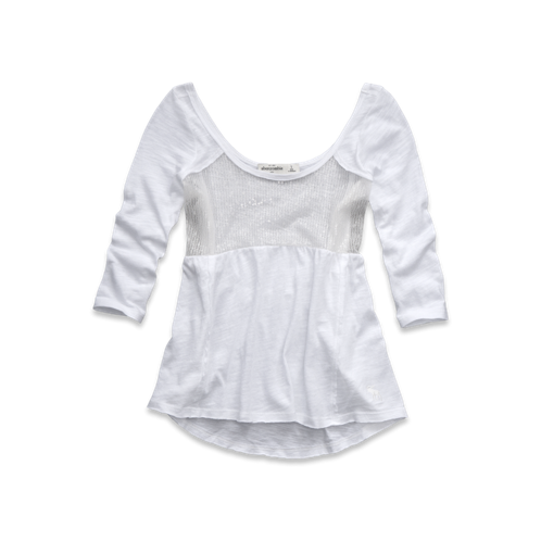 girls shine babydoll top