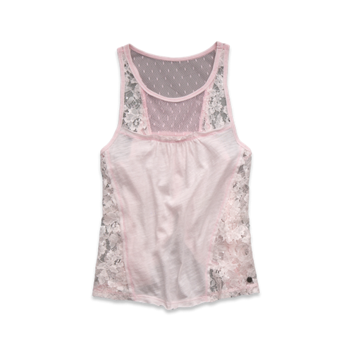 featured items lace tank