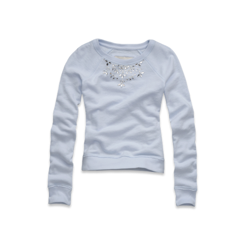 girls necklace sweatshirt