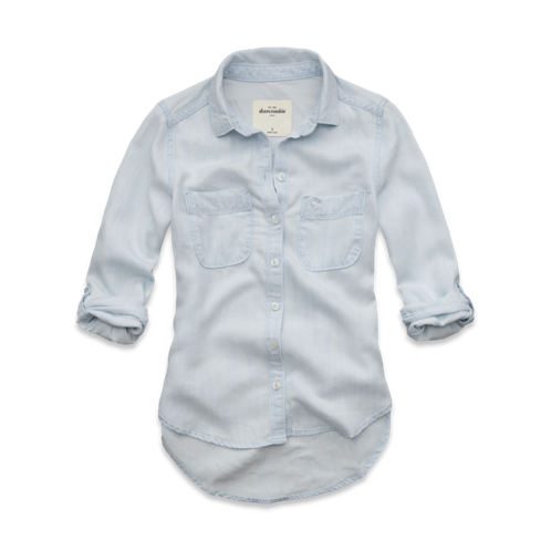tops denim shirt