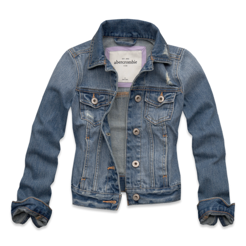 girls vintage denim jacket