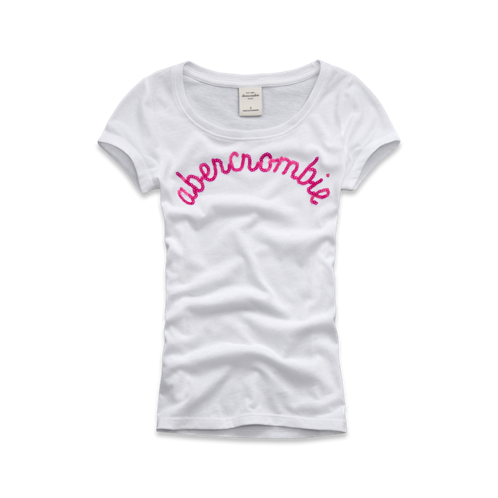 girls sequin logo graphic tee