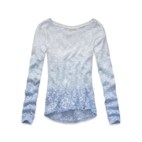 girls ombre shine sweater