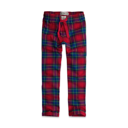 boys plaid sleep pants