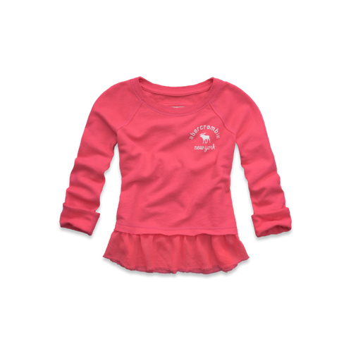 girls cute embellished sweatshirt