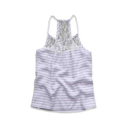 girls pretty lace cami