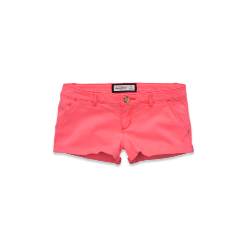 girls a&f low rise classic shorts