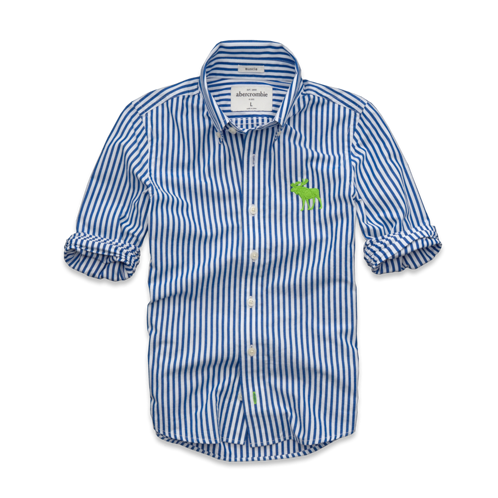 boys preppy striped shirt